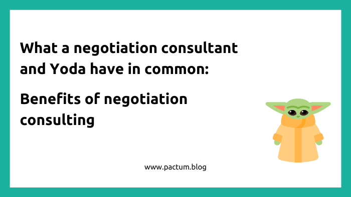 Benefits of negotiation consulting